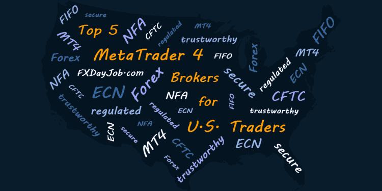 MetaTrader 4 Brokers for U.S. Traders